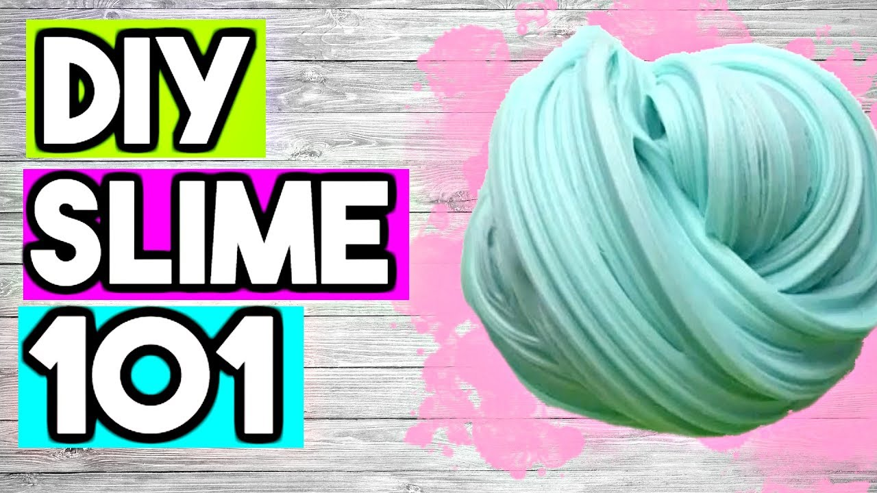 How to Make SLIME for BEGINNERS! EVERYTHING You Need To ...