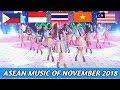 ASEAN POP MUSIC OF NOVEMBER 2018