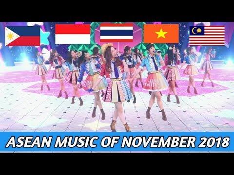 ASEAN POP MUSIC OF NOVEMBER 2018