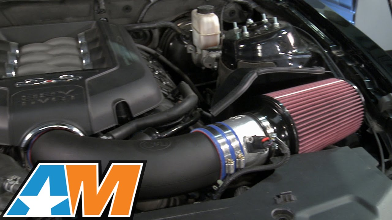 Mustang C Amp L Street Amp Racer Cold Air Intake W 95mm Maf