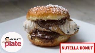 BOMBOLONI  Homemade Italian Donut with Nutella