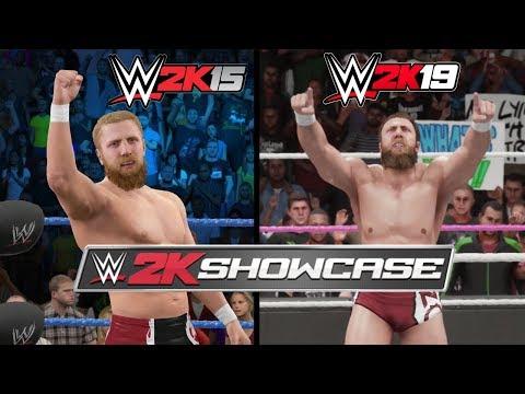 WWE 2K19 Vs. WWE 2K15: Daniel Bryan 2K Showcase Moments