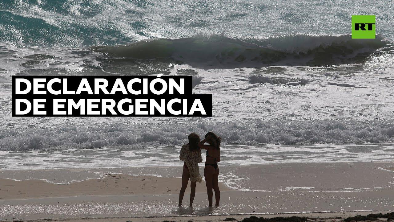 """Emergencia en Luisiana, EE.UU., y """"alerta roja"""" en México ante el huracán Zeta"""