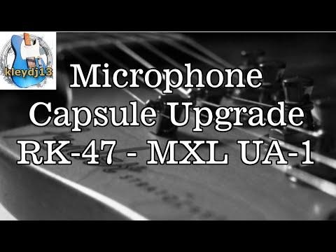 Blue Bluebird Microphone Capsule Replacement Sound Comp
