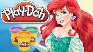 Download Video Disney Prensesi Ariel - Play Doh - Oyun Hamuru MP3 3GP MP4