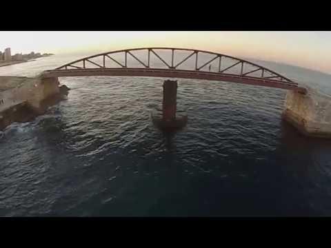malta valletta fossa drone 2016