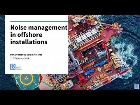 Webinar: Managing optimal noise levels offshore