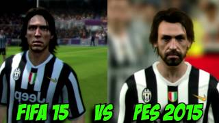 FIFA 15  Face Comparison  PC VS XBOX VS PS3 VS PS4  by Gameholistic 2014 2015