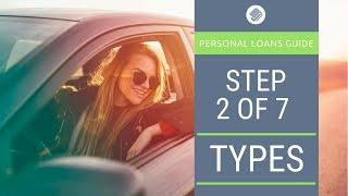 What type of personal loan do you need?