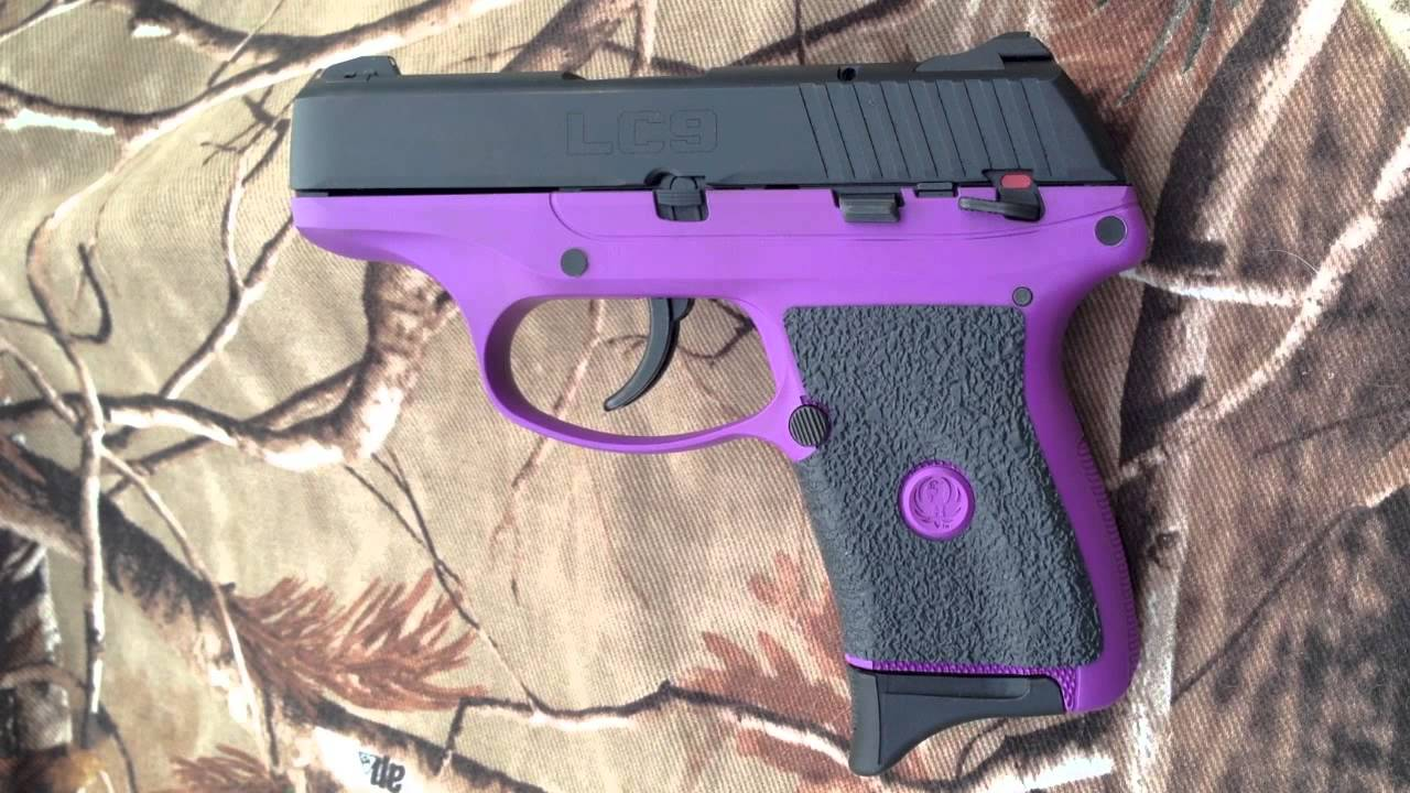 Tractiongrips Rubber Grips On Ruger Lc9 9mm Pistol