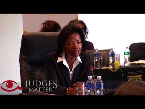 JSC interview of Judge E D Baartman for the Supreme Court of Appeal (Judges Matter)