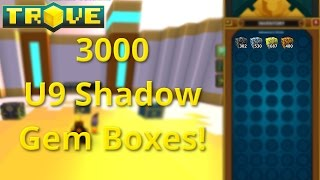 Opening 3000 Shadow Gem Boxes!