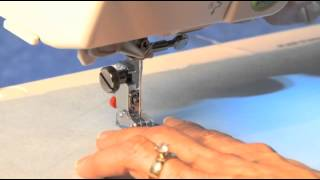 Button Sewing Foot - Sewing on two-hole buttons