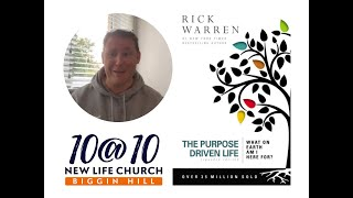 10@10 - The purpose driven life - Day 31/Part 2 - Isaac smith