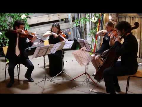 Webern: Langsamer Satz - Kappelberg Quartet