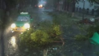 Dramatic rescues as fatal super typhoon Rammasun hits China