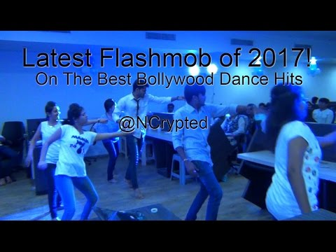 Latest Flash Mob 2017 India on Bollywood Dance Hits
