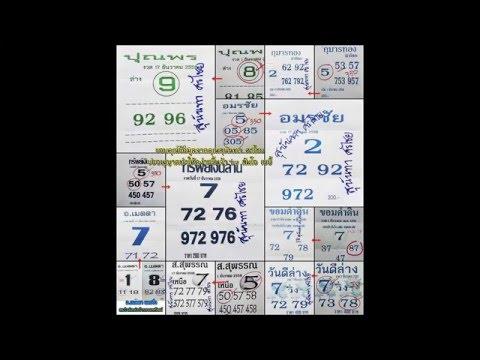 เลขเด็ด 17/12/58 รวมหวยซอง หวย งวดวันที่ 17 ธันวาคม 2558