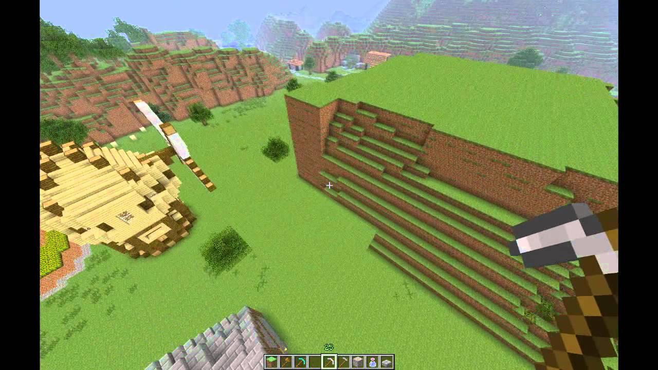 Minecraft WorldEdit Tutorial How To Gebäude Kopiereneinfügen - Minecraft fertige hauser einfugen