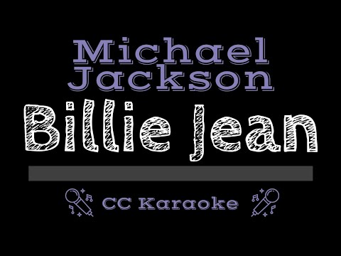 Michael Jackson • Billie Jean (CC) [Karaoke Instrumental Lyrics]