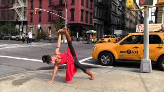 The Girl in the Red Dress~ - Meghan Currie Yoga