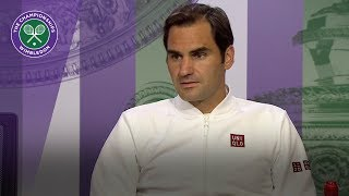 Roger Federer pleased with Wimbledon form