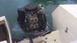 Yamaha 115 HP V4 2T probleme demarrage a froid