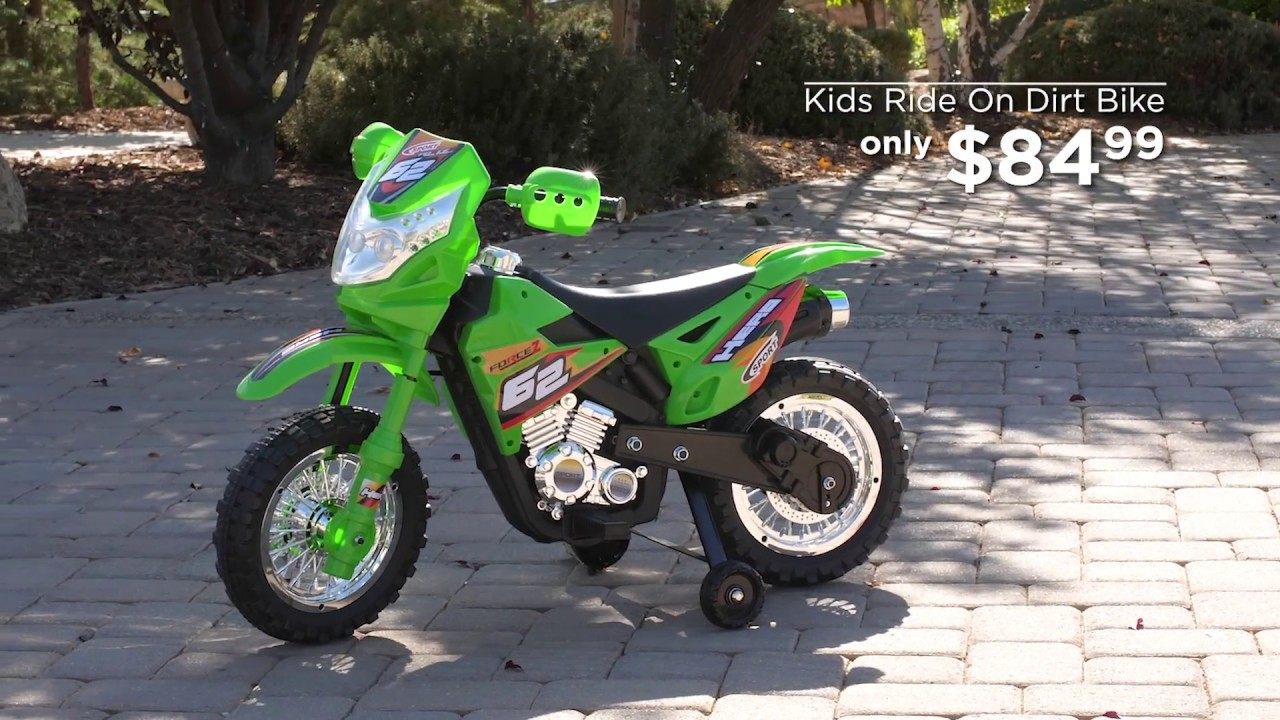 73d51a736 Best Choice Products  Kids Ride On Dirt Bike - YouTube