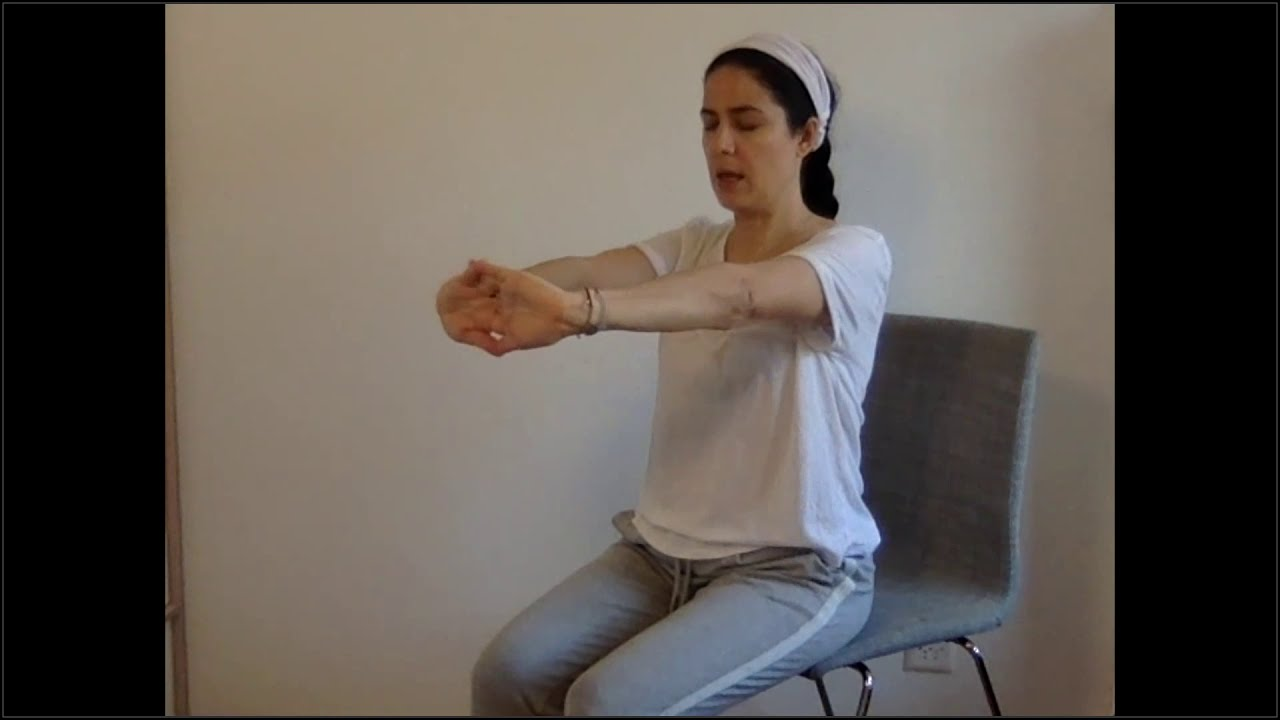«Série d'exercices d'ouverture respiratoire»