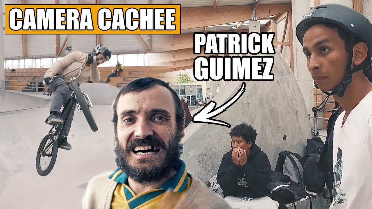 PRANK : on piège les RIDERS d'un SKATEPARK avec le champion de BMX Patrick Guimez !