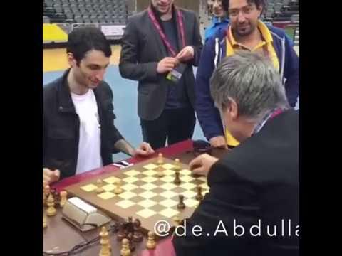 Как Иванчука от шашек оторвали