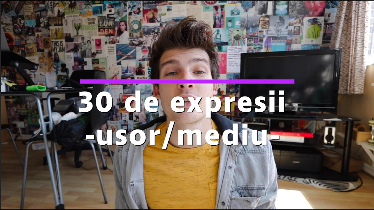 30 de expresii in engleza (usorare si medii) | Invata Engleza Usor #11