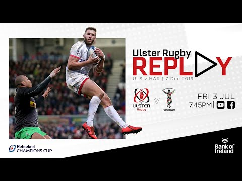 FULL GAME | Ulster Rugby V Harlequins | Champions Cup 2019