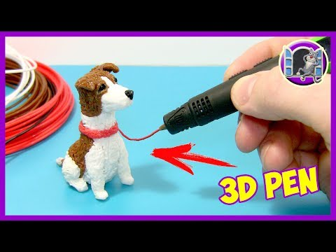 3D PEN - DRAWING A DOG - GINA Elli Di Pets