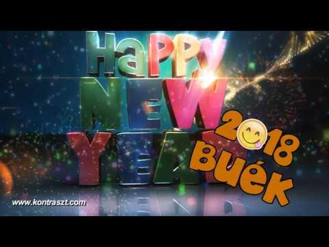 BUÉK 2018 - Boldog Új Évet Kívánunk! Újévi köszöntő videó letöltés
