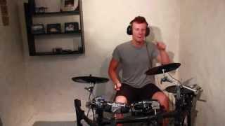 Happy - C2C ft. D. Martin - Drum Cover