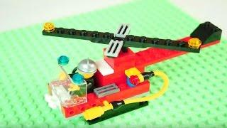 Конструктор ЛЕГО (LEGO): Собираем пожарный вертолет! Мультики ЛЕГО (LEGO)(Давай играть в конструктор ЛЕГО (LEGO)! Ты знаешь что такое пожарный вертолет? Эти мультики Лего (Lego) покажут..., 2015-12-11T07:49:38.000Z)