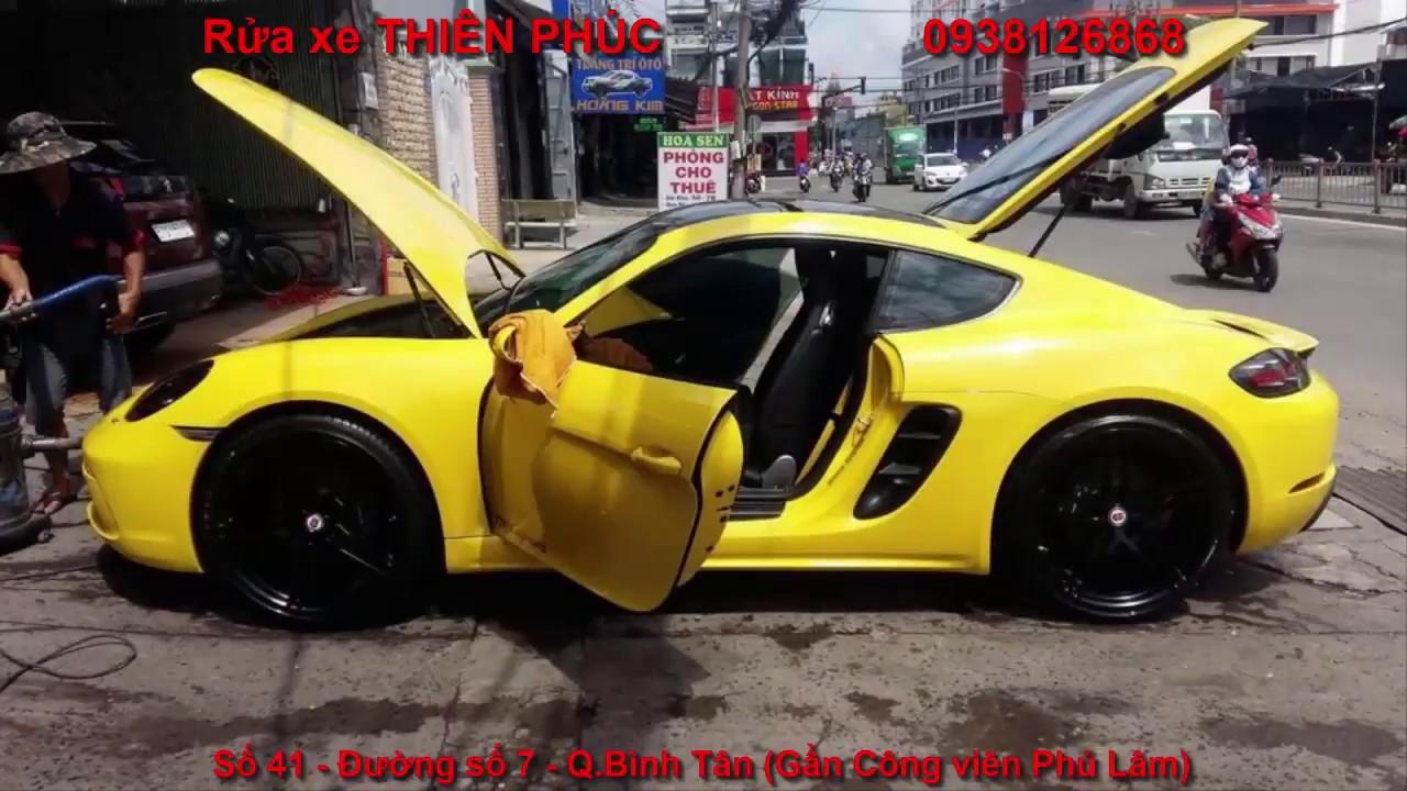 Rửa xe Bình Tân tại Rửa xe Thiên Phúc - 0938126868