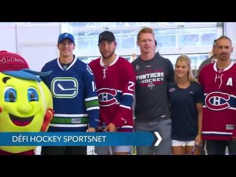 Défi Hockey Sportsnet Tomas Plekanec, Petra Kvitova, Alex Burrows et autres