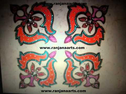 acrylic  rangoli manufacturers  ranjanaarts  2014
