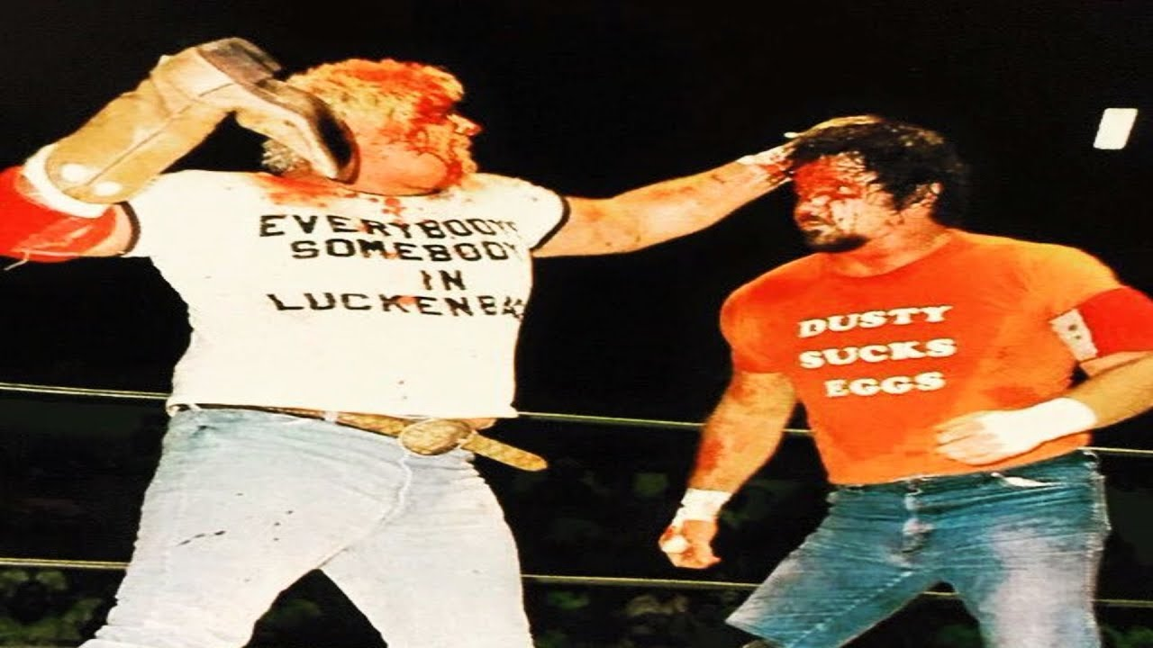 Dusty Rhodes vs Terry Funk (September 18th, 1979) (Championship Wrestling  From Florida) - YouTube