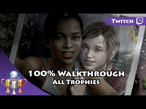 The Last Of Us Remastered Left Behind Live Stream ►100% Trophies On Survivor Difficulty