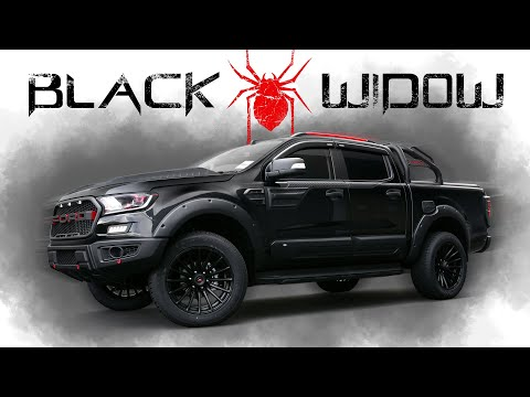 Black Widow Ford Ranger Raptor 2018 In 4k Quality Youtube