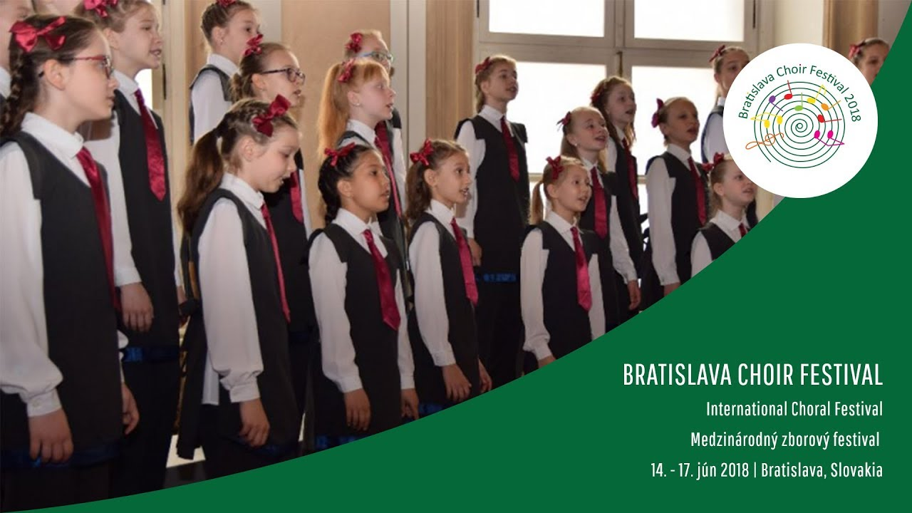 Jazz choir of Sverdlovsk State Children Philharmonic Society | Bratislava  Choir Festival 2018
