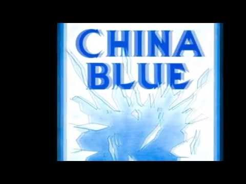 CHINA BLUE - Glasses Hi (1987) Canada (Rare vintage Hard Rock)
