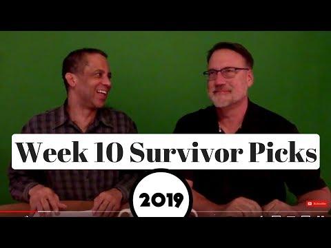 2019 NFL Survivor Pool Picks Week 10