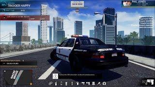 Police Simulator Patrol Duty Open World Free Roam Gameplay PC HD 1080p60FPS