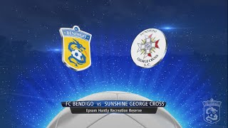 NPL1 Round 26 FC Bendigo v Sunshine George Cross 30.09.14