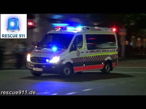 [Sydney] Ambulance Service New South Wales (collection)