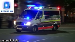 [Sydney] Ambulance Service New South Wales (collection) thumbnail
